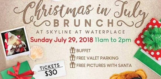 Christmas in July Brunch