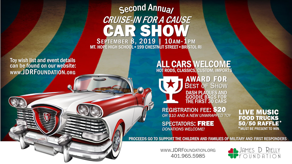 2019 Cruise-in for a Cause Car Show and Toy Drive