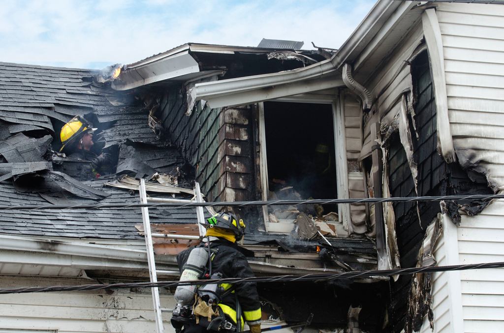 Home fire victims assistance.