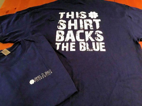 This Shirt Backs The Blue
