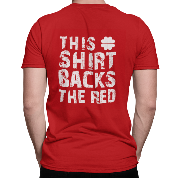 This Shirt Backs The Red