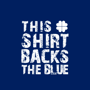 This Shirt Backs The Blue